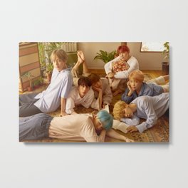 Bangtan Boys / BTS Metal Print