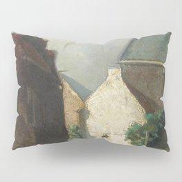 Fish Market Sun 1873 By Johan Hendrik Weissenbruch | Reproduction Pillow Sham