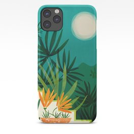 Tropical Moonlight / Tropical Night Series #1 iPhone Case