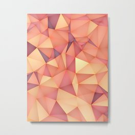 Meduzzle: Blond Metal Print