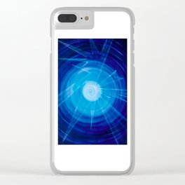 Abstract Perfection 2 Clear iPhone Case