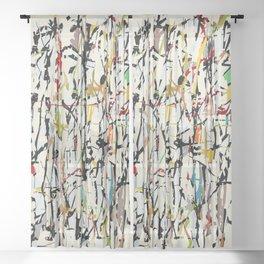 Pollock Wink Sheer Curtain