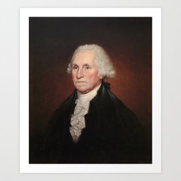 President George Washington - Rembrandt Peale Art Print