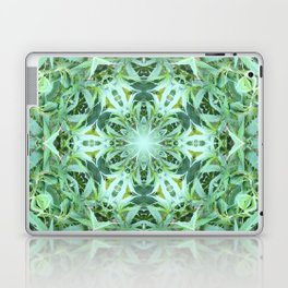 Mary Jane Mandala 2 (green) Laptop & iPad Skin