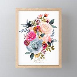 Autumn Rose Framed Mini Art Print