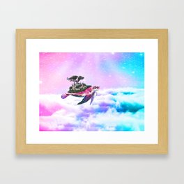 Empyrean Tortoise Framed Art Print
