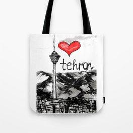 I love Tehran  Tote Bag