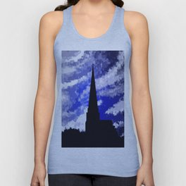 Ancient land and the sky. Unisex Tank Top