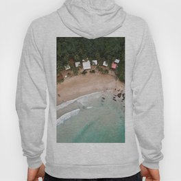 Tropical Summer Beach in The Philippines Hoody