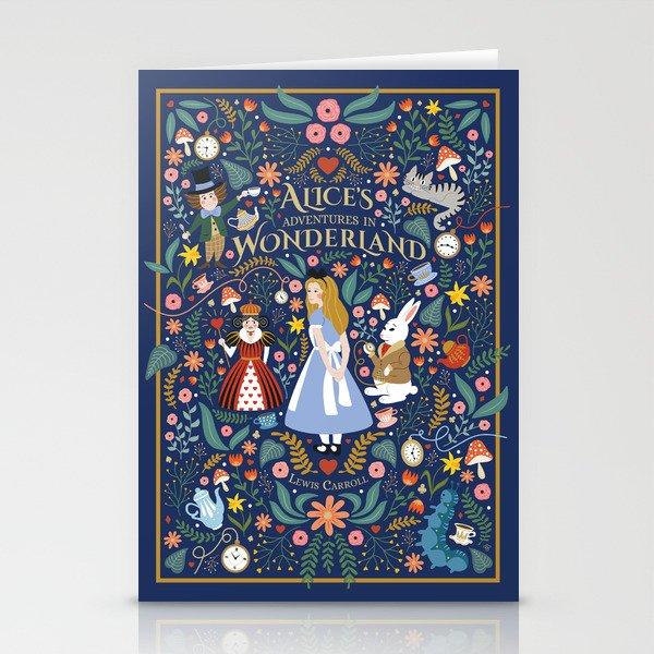 Alice in wonderland Stationery Cards