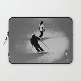 Skiing and Snowboarding Winter Fun Laptop Sleeve