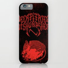Decapitated by dishwasher III (red) iPhone 6s Slim Case