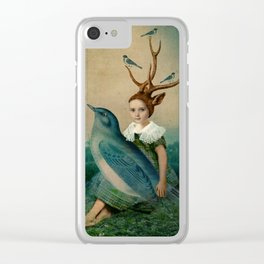 Sing me a Song Clear iPhone Case
