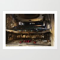 theater Art Prints featuring Theater  by Stephen Wilbert Photography