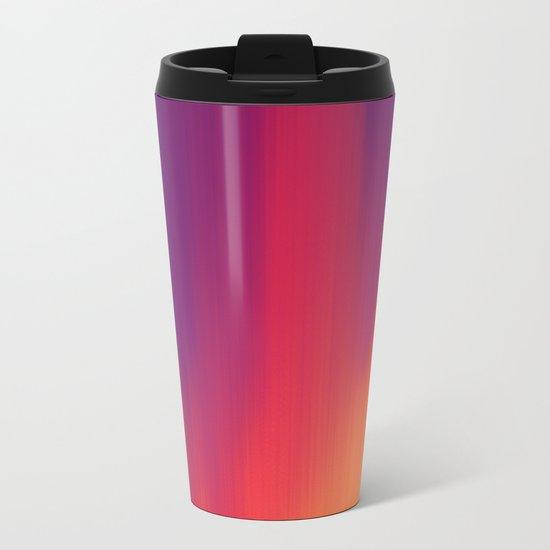 Spectrogram Metal Travel Mug