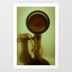 Can you hear me now? Art Print