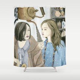 Just Between Us Girls Shower Curtain