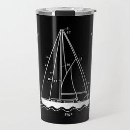 Sailing Boat Sailor Crew Outfit Anchor Nautical Travel Mug