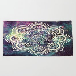 Galaxy Mandala : Deep Pastels Beach Towel