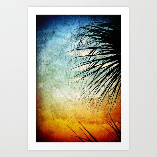Sunrise Paradise Art Print