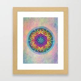 The Flower of Life variation Framed Art Print