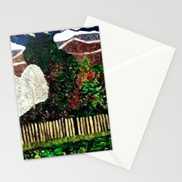 Farming in the Mountains Stationery Cards