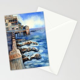 Walking with Steinbeck on Cannery Row Stationery Cards