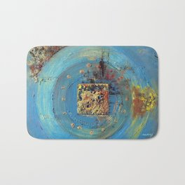 Of the Earth 4 by Nadia J Art Bath Mat