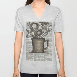 Cupfull of Happy Unisex V-Neck