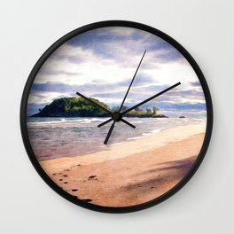Little Presque Isle  Wall Clock