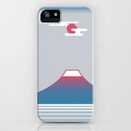 snow mountain 02 iPhone Case