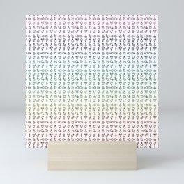 QUEER (all genders) Mini Art Print