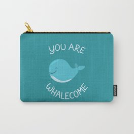 Whale, thank you! Carry-All Pouch