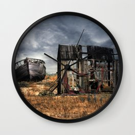 Fisherman Memories Wall Clock