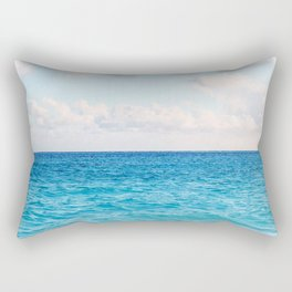 Ocean, Wave & Clouds Rectangular Pillow