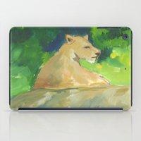 kiki iPad Cases featuring Kiki by Paintmonkey Studios