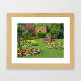 Castle Park Gardens Framed Art Print