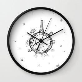Little panet Wall Clock