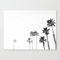 Tranquillity - bw Canvas Print