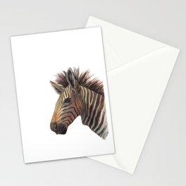 Zebra Drawing Stationery Cards