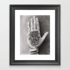 sXe Framed Art Print