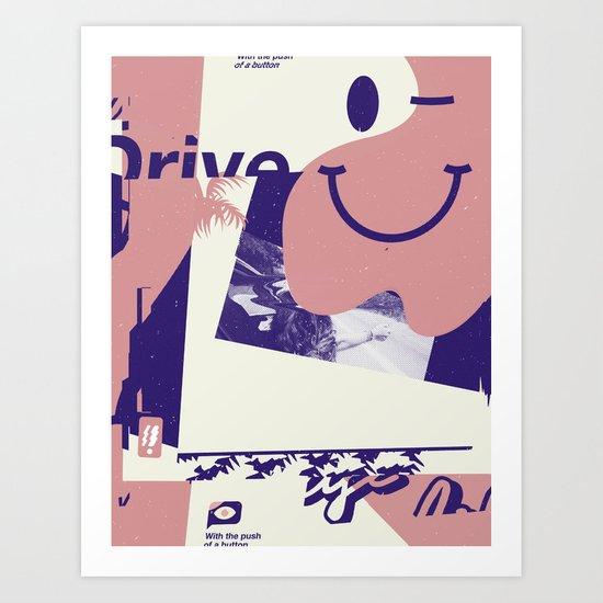 Flexin' Art Print