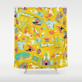 Most Magical Place on Earth Shower Curtain