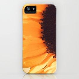 SunFlower (1) iPhone Case