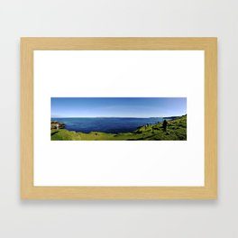 A View of Scotland Framed Art Print