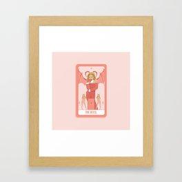 Tarot Card XV: The Devil Framed Art Print