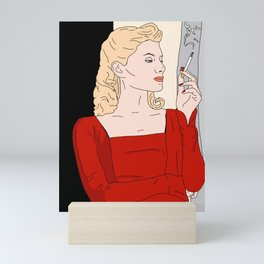 Inglourious Basterds - Shoshanna Mini Art Print