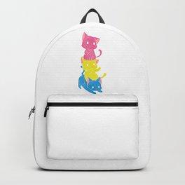Pansexual Pride Kittens Backpack
