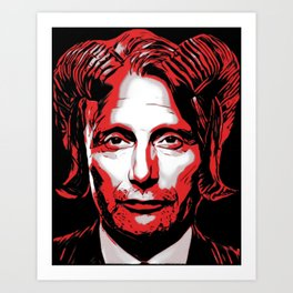 Demon Hannibal - To Reign in Hell Art Print
