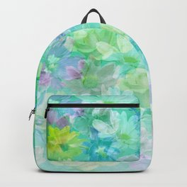 Enchanted Spring Floral Abstract Backpack